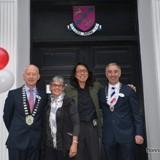 Past and present mayor of Kilarney