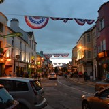 It was a beautiful evening on the 4th in Ireland.