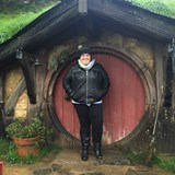 How cute are all these Hobbit Houses?