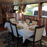 Gourmet dining onboard your barge