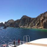 Photo from the catamaran/snorkeling cruise