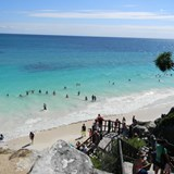Tulum Ruins: amazing beach!