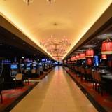 The casino area