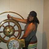 Having fun exploring this huge ship