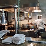 Chef's tables available at the Seaside Suites