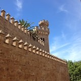 The Almudaina Royal Palace in Palma de Mallorca