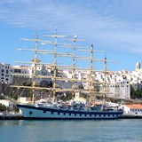 The amazing tall ship