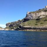 The cliffs of Bonifacio, Corsica