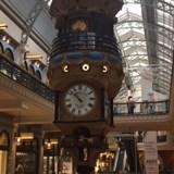 Clock inside the gorgeous Victoria Building Sydney
