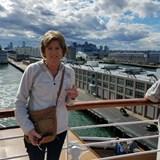 Bon Voyage - departing Boston Harbor