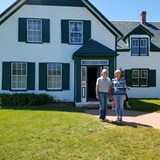 Anne of Green Gables books based on this house.