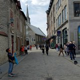 the streets of Quebec City
