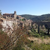 Minerve, deep in the heart of Cathar Country.