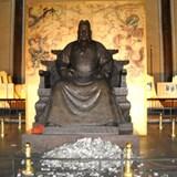 Statue of Emperor Zhu Di, near Beijing