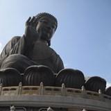 Hong Kong's immense Tian Tian Buddha