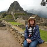 Laurie at Machu Picchu