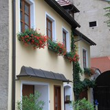 Beautiful homes in the village of Durnstein