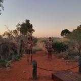 Aboriginal Performance, Uluru Australia