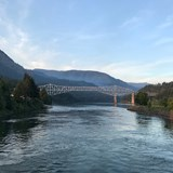 The Bridge of the Gods along the Columbia River