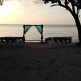 Sunset Wedding at Secrets St. James