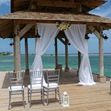Wedding on the Dock at Zoetry