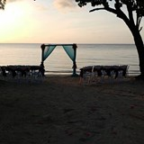 Sunset Wedding at Secrets St. James