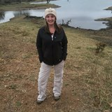 By a waterhole with Hippos and Crocs!
