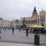 Town squarein Krakow