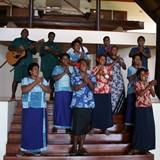Royal Davui Staff Welcome