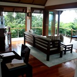 Our Sitting Area in our Villa