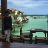 Overwater Grill w/ view of Overwater Bungalows