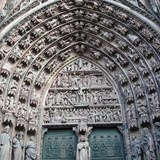 Detail on the Strasbourg Cathedral