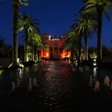 The Four Seasons Marrakesh at Night