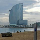 W Hotel in Barcelona