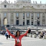 Honeymoon - Vatican City outside the Vatican