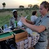 Sundowners on Safari