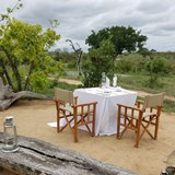 Private dinner in the bush