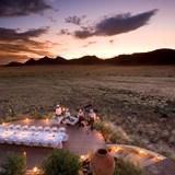 Namibian desert sunsets!