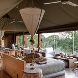 Gorgeous tented lodge.