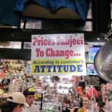 Store humor in Bermuda
