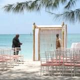 Beach wedding at Beachs Turks & Caicos Resort