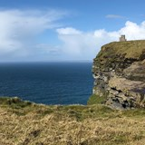 Other side of the Cliffs of Moher