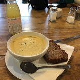 The best Seafood Chowder in Blarney Ireland