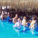 Friends made at pool bar
