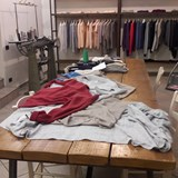 Learning about cashmere in Bevagna, Italy