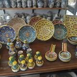Learned how to make ceramics at Sberna Deruta