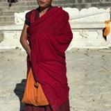 Buddhist Priest in Tibet
