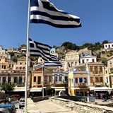 The harbor of the Greek Island of Symi.