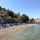 A lovely beach on the Greek Island of Symi.