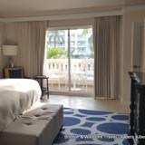 The bedroom from the 1 bedroom oceanfront